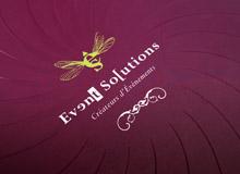Plaquette et site internet pour une agence événementielle